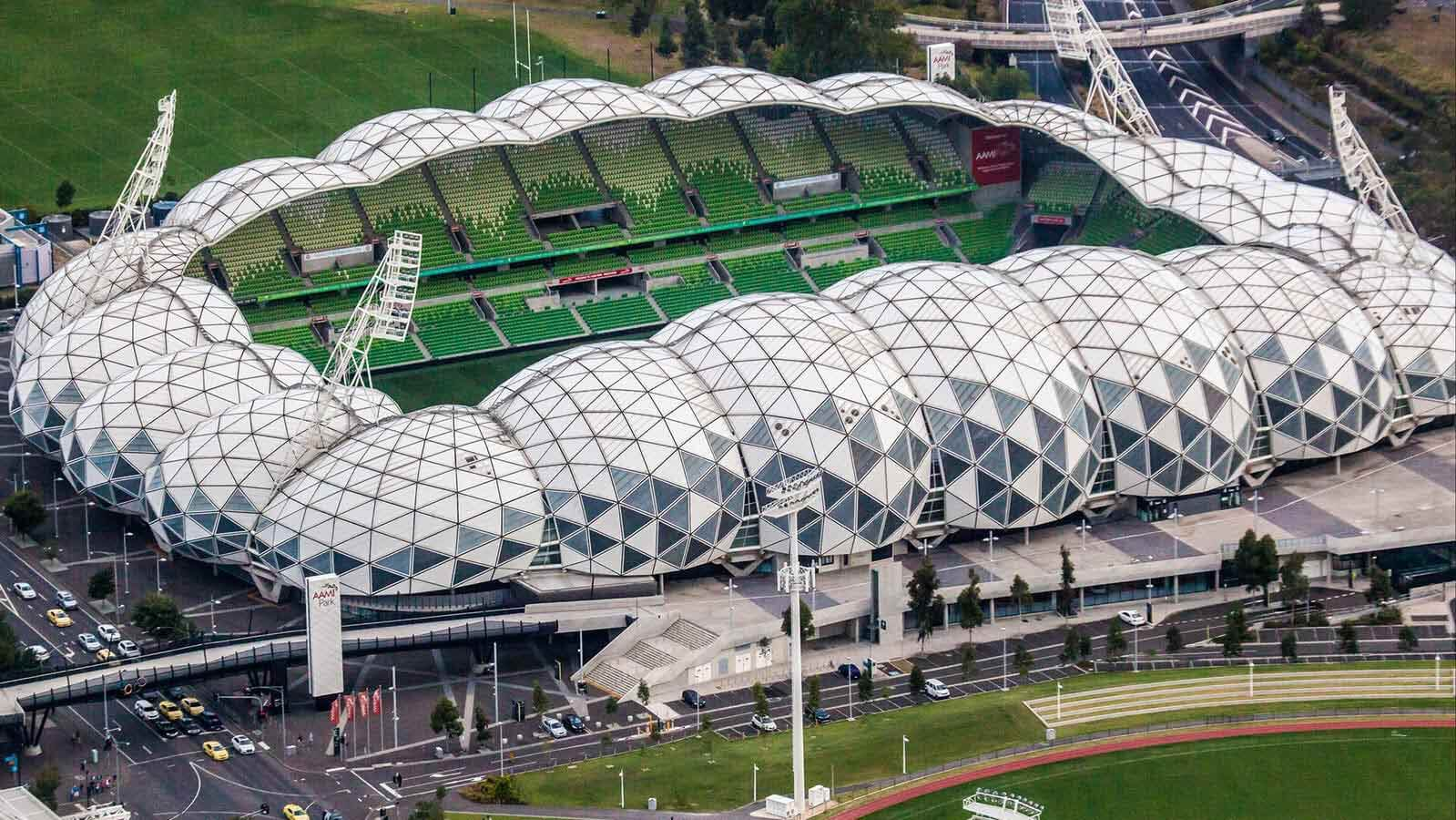 AAMI Park Stadium, Melbourne City, Victoria, Australia, 2010 by Cox Architects & Planners.