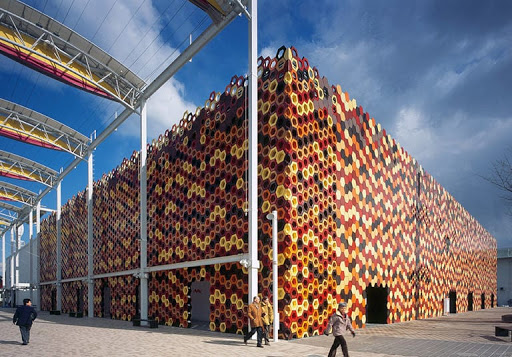 Spanish Pavilion Expo 2005, Aichi, Japan, 2005, Foraging Office Architects.