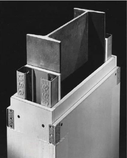 Çelik taşıyıcı elemanların kutuya alma yöntemi ile yalıtımı
