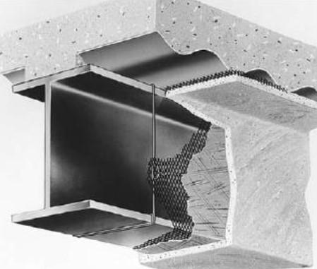 Çelik taşıyıcıların sıva ile yalıtılması