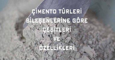 çimento-çeşitleri