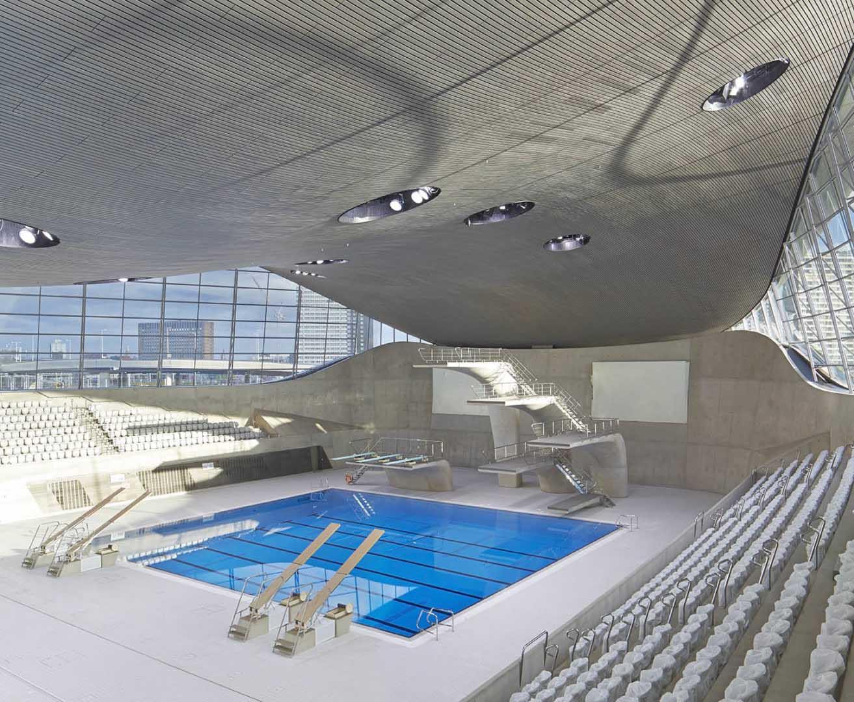 Lonrda Aquatics Merkezi-Zaha Hadid