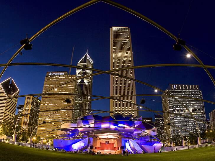Millennium Pavilion-Chicago