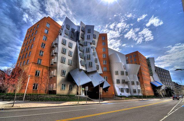 Stata Center-MIT Massachusetts