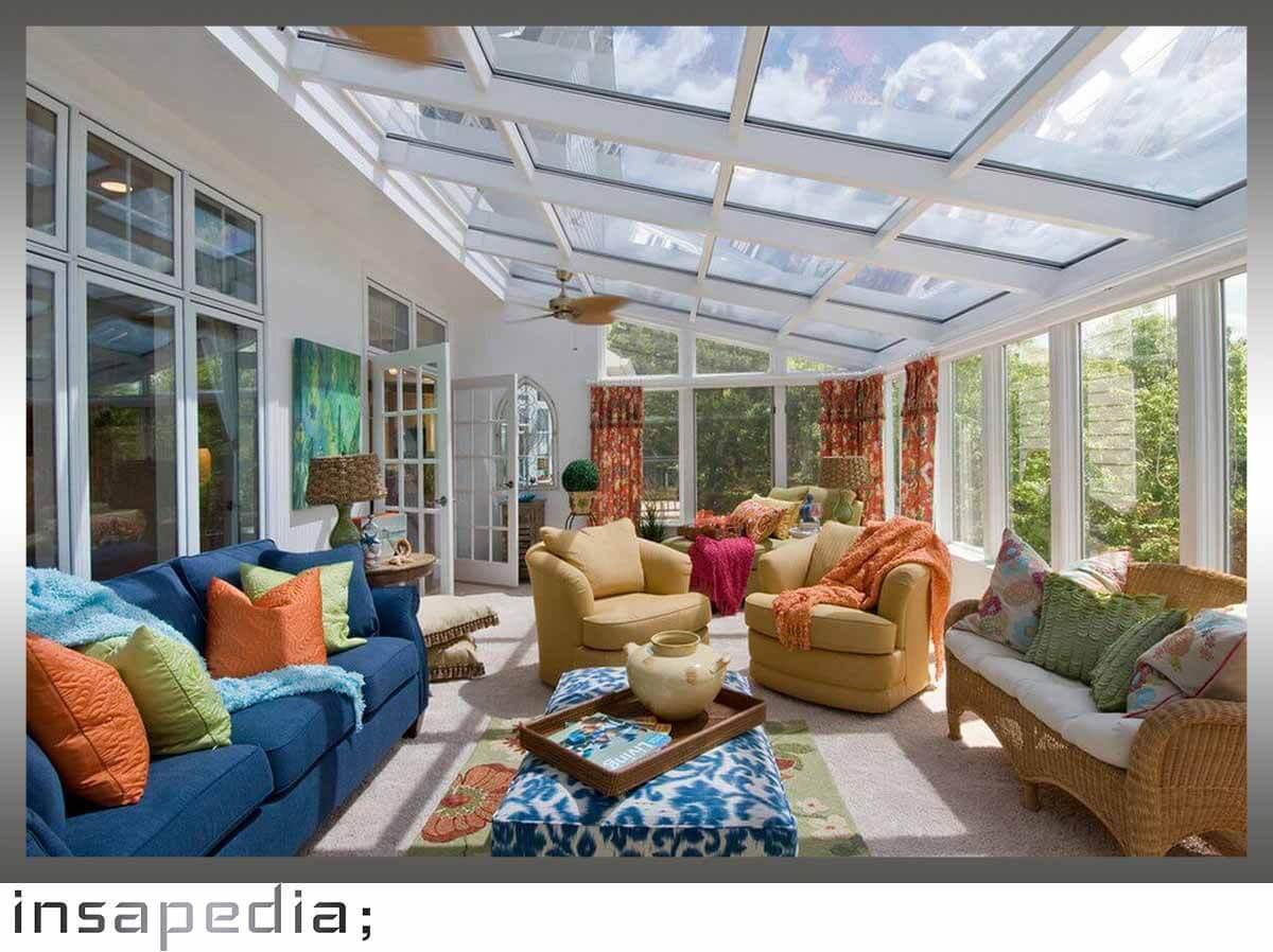 cam tavan kış bahçesi