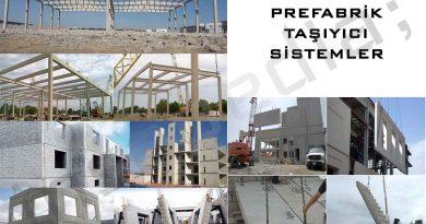 Prefabrik Taşıyıcı Sistemler