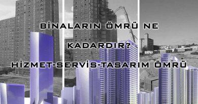 Binaların Ömrü Ne Kadardır-Hizmet-Servis-Tasarım Ömrü